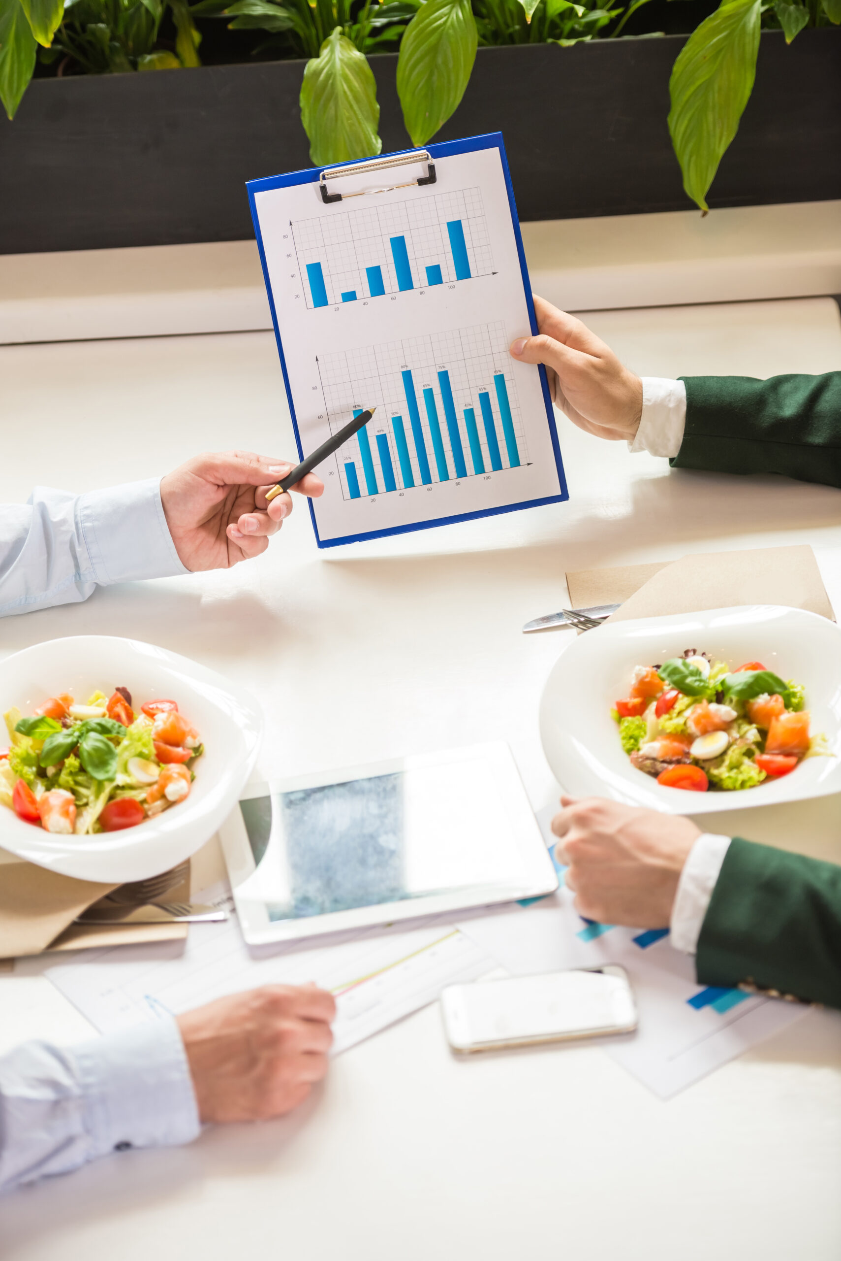 How to Tell if Your Business Meal Is Deductible